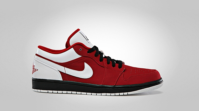 Air Jordan 1 Low Gym Red White Black