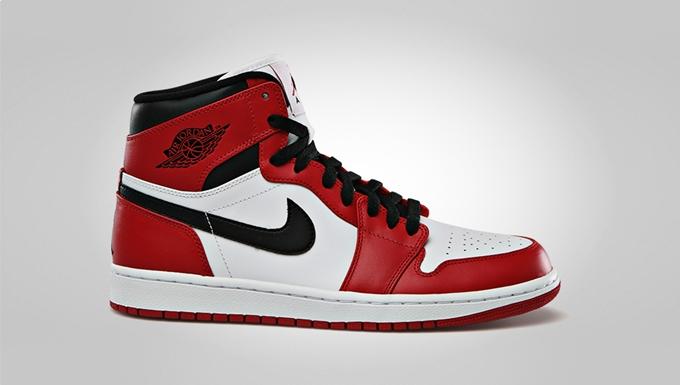 Air Jordan 1 Retro High White Varsity Red Black