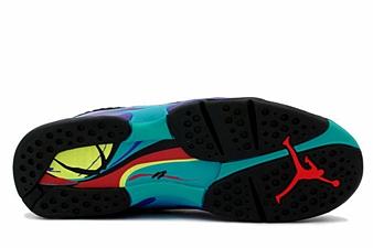 Air Jordan 8 Aqua Sole