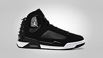 Jordan Flight Luminary Black White