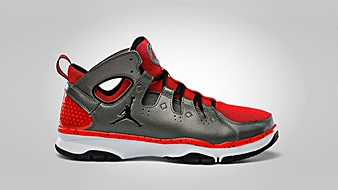 Jordan Legend TR Metallic Pewter Black Bright Crimson