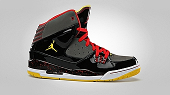 Jordan SC-1 Black Flint Pewter Challenge Red Tour Yellow