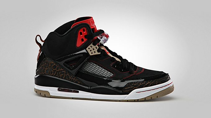 Jordan Spizike Black Challenge Red