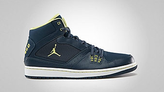 Jordan 1 Flight Squadron Blue Electric Yellow White