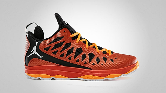 Jordan CP3.VI Team Orange White Black Bright Citrus