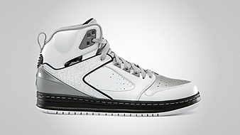 Jordan Sixty Club White Black Metallic Silver