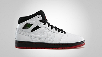 Air Jordan 1 Retro 97 White Black Gym Red