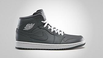 Air Jordan 1 Retro Mid cool grey white