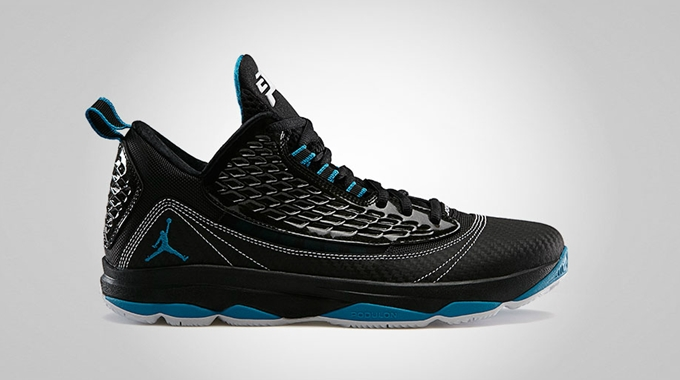 Jordan CP3.VI AE Black Neo Turquoise White