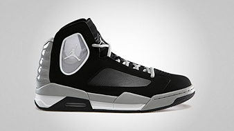 Jordan Flight Luminary Black Matte Silver White
