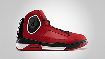 Jordan Flight Luminary Gym Red Black White