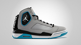 Jordan Flight Luminary Matte Silver White Neo Turquoise Black
