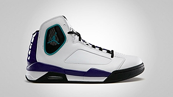 Jordan Flight Luminary White Black Grape Ice New Emerald