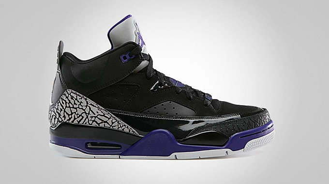 Jordan Son Of Mars Low Grape Ice Black