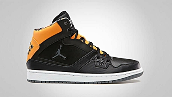 Jordan 1 Flight Black Cool Grey Bright Citrus White