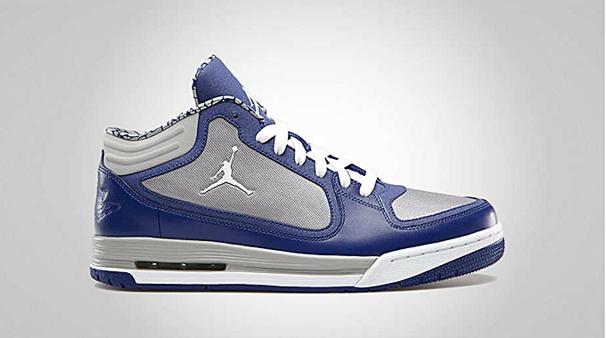 Jordan Post Game Deep Royal Blue White Matte Silver