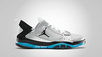 Jordan Trunner Dominate 1.5 Metallic Platinum Black Neo Turquoise White