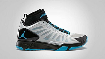 Jordan Trunner Dominate Pro Metallic Platinum Neo Turquoise Black