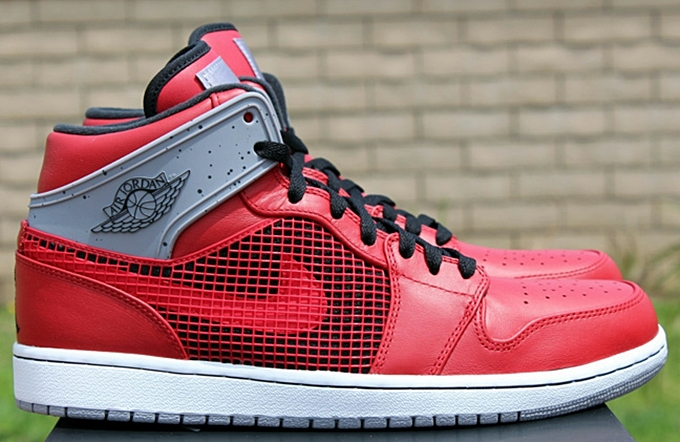 Air Jordan 1 Retro '89 Fire Red/Black-Cement Grey-White