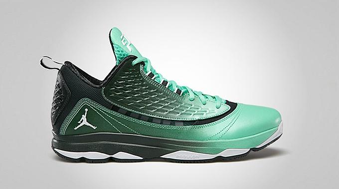 Jordan CP3.VI AE Green Glow Black Spruce White