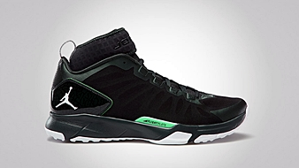 Jordan Dominate Pro Black Spruce White Green Glow
