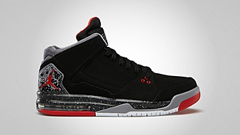 Jordan Flight Origin Black Fire Red Cement Grey