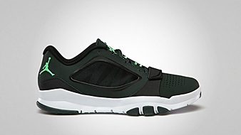 Jordan Trunner Dominate Flex Black Spruce Green Glow White