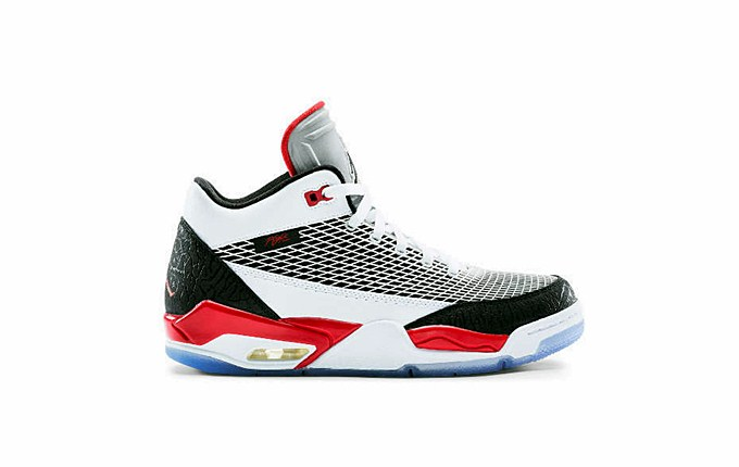 Jordan FLTCLB 80 white fire red black