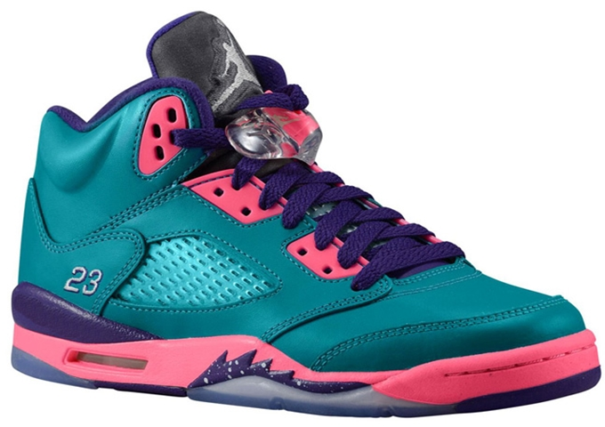 air jordan 5 retro gs teal