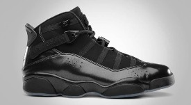"""All Black"" Jordan 6 Rings Available This Weekend!"