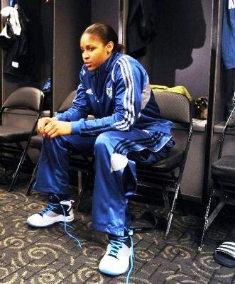 Maya Moore Wears Jordan Fly Wade in WNBA Debut