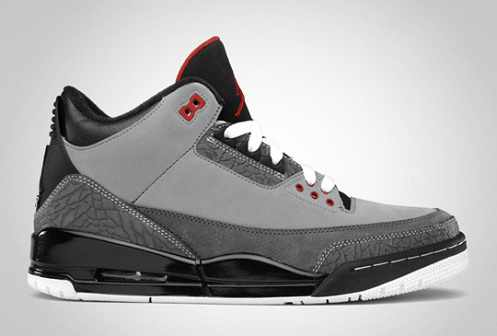 """Stealth"" Air Jordan 3 Retro Now Out!"