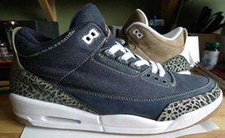 "Air Jordan 3 ""Denim"" and ""Khaki"" to Be Released!"