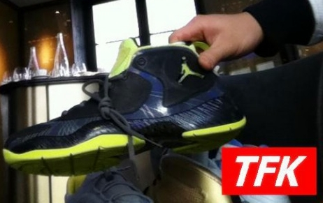 Sneak Peek: Air Jordan 2012