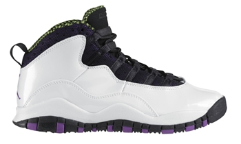 "Air Jordan 10 GS ""Violet Pop"" Released!"