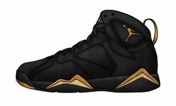 """Release Date: Air Jordan 7 """"Gold Medal"""""""