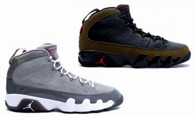 Air Jordan 9 Cool Grey and Olive Set to Return?