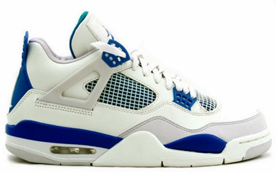 "Air Jordan 4 Retro ""Military Blue"" Now Out!"
