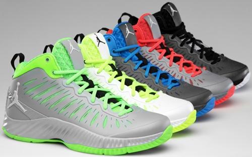 Five Colorways of Jordan Super Fly Set for Release