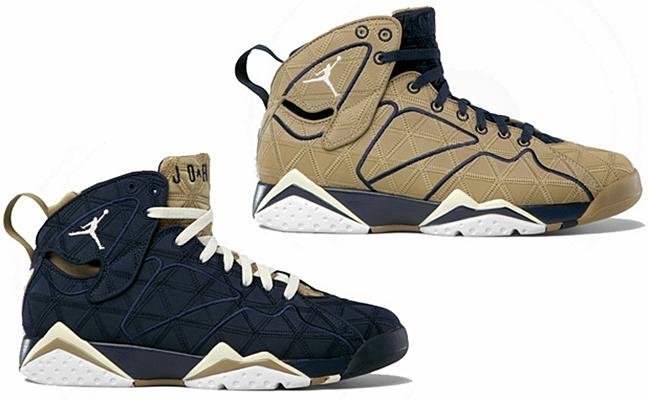 "For Release: Air Jordan 7 ""Filbert"" and ""Obsidian"""