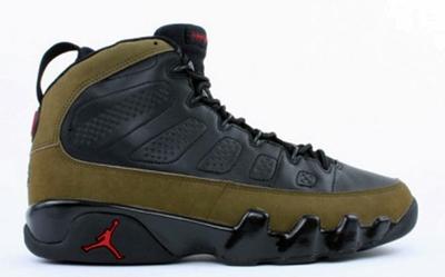 """Air Jordan 9 """"Olive"""" Release Date"""