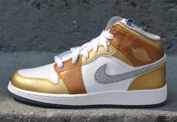 Air Jordan 1 GS Making Noise!