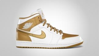 Golden-Looking Air Jordan 1 Phat Added in August Lineup