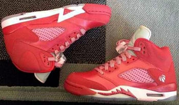 "Check Out the New Air Jordan 5 ""Strawberry"""