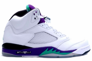 Air Jordan 5 Grapes Set to Make a Return