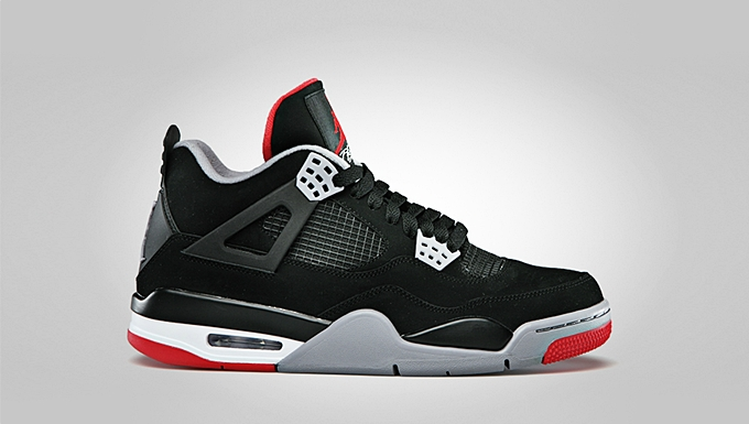 "For Release: Air Jordan 4 Retro ""Bred"""