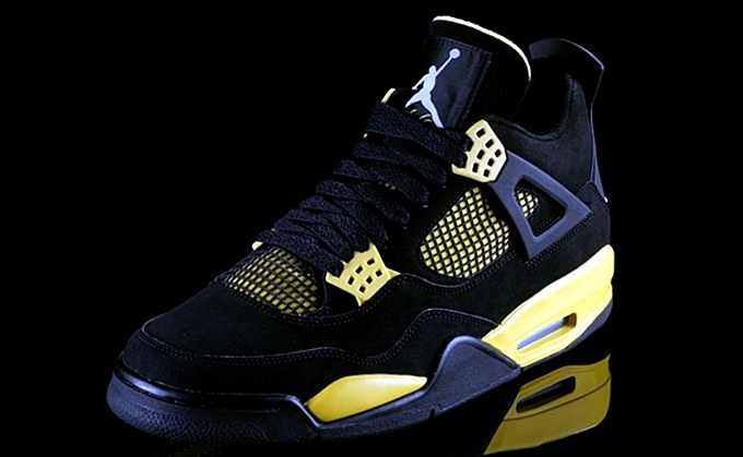 Prepare to Be Struck by the Air Jordan 4 Thunder
