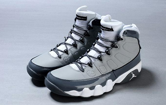 """For Release: Air Jordan 9 Retro """"Cool Grey"""""""