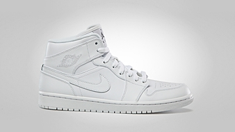 First Two Air Jordan 1 Mid Kicks Now Available