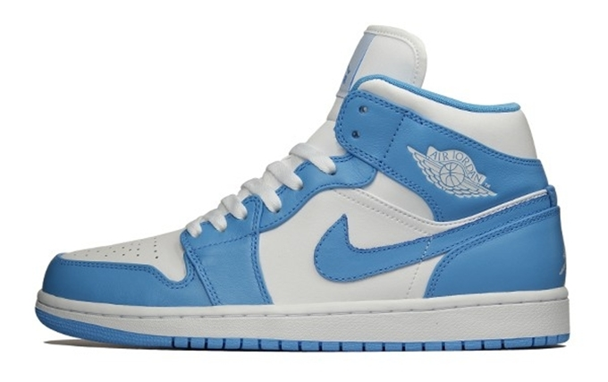 Air Jordan 1 Retro White University Blue White